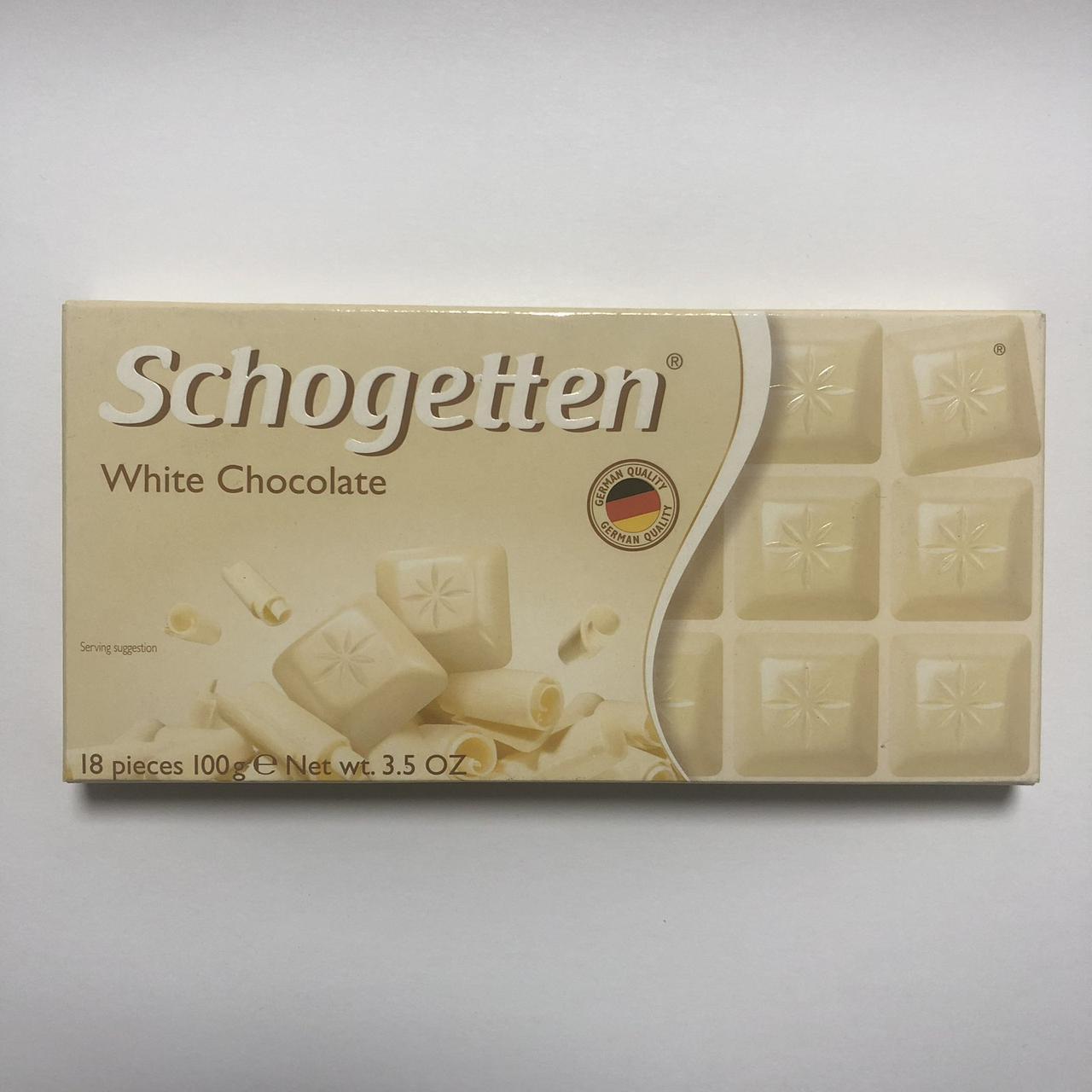 Шоколад белый «Schogetten» White Chocolate 100 г.