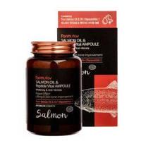 Ампульная сыворотка с лососем и пептидом Salmon Oil & Peptide Vital Ampoule от Farm Stay 250мл