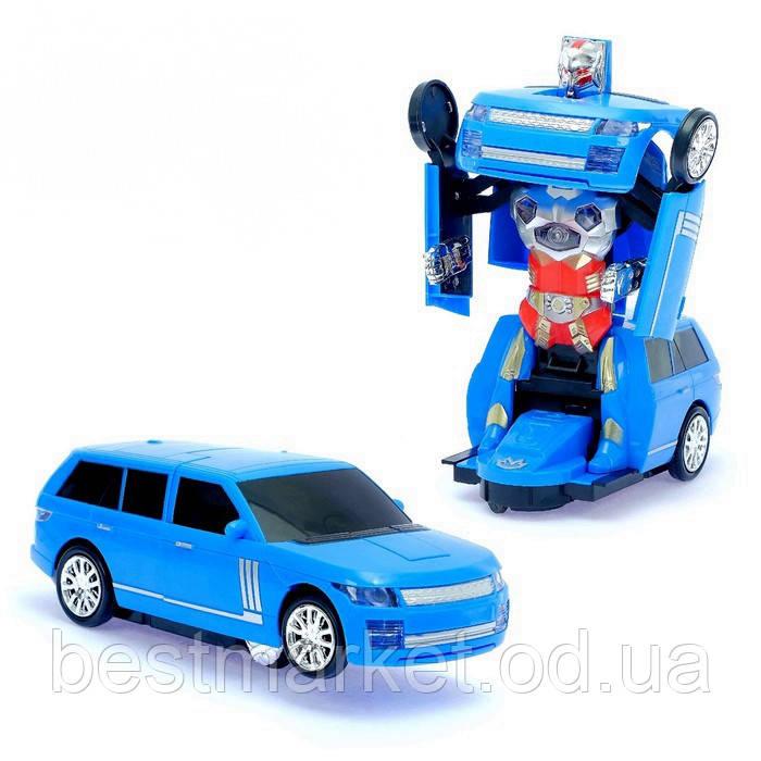 Машинка Робот Трансформер Road Tyrants