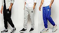 Спортивные штаны с резинкой внизу адидас,adidas