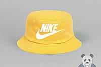 Желтая панамка мужская найк,Nike