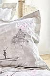 Постельное белье полуторный Akina ранфорс Karaca Home, фото 2