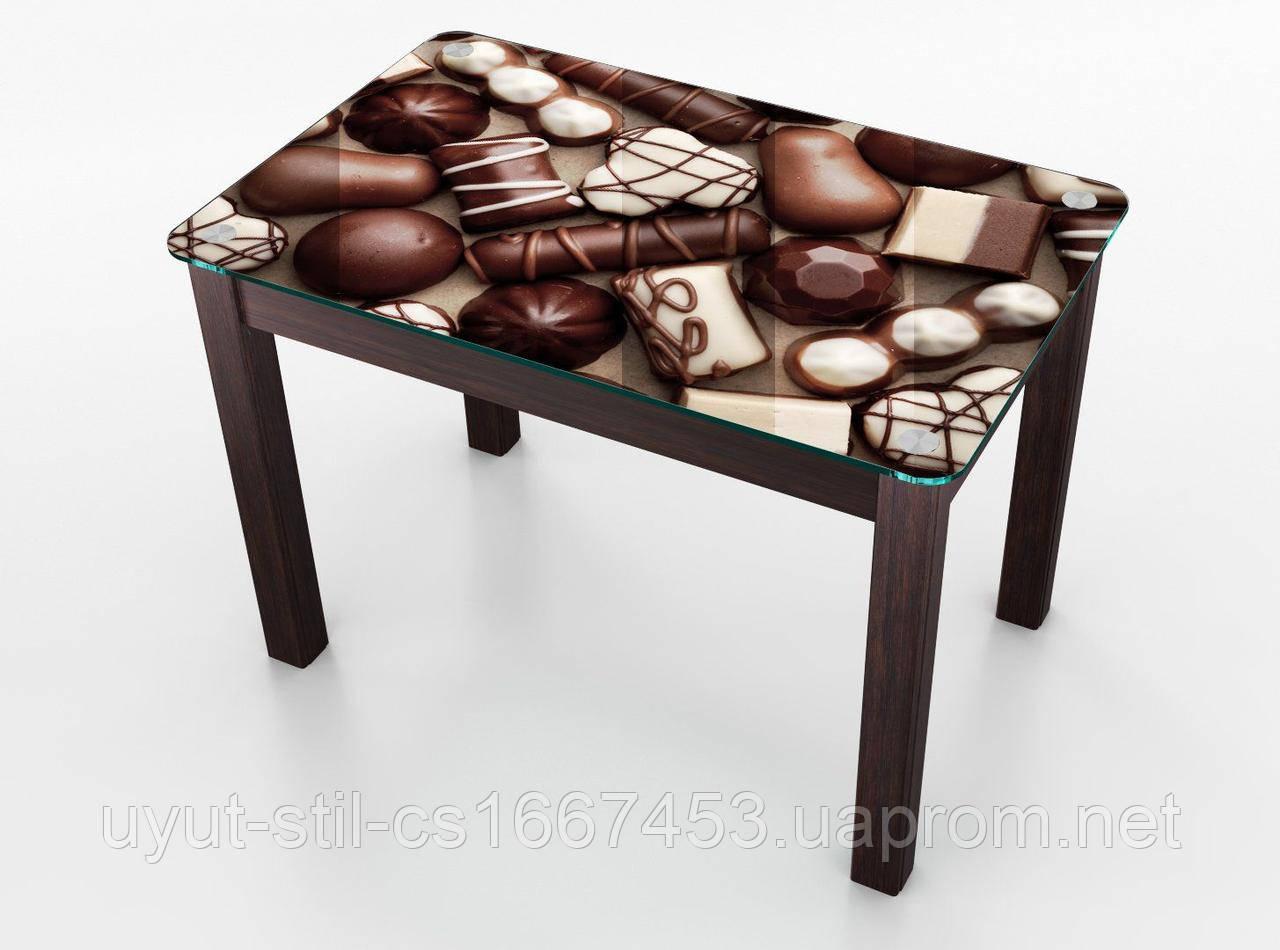 Стол Boston на кухню Шоколад