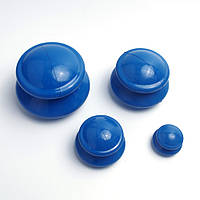 Антицеллюлитные массажные вакуумные банки резиновые 4 шт