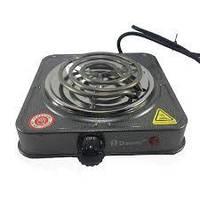 Электроплита DOMOTEC MS-5801 спиральная,настольная на 1 комфорку 1000Вт