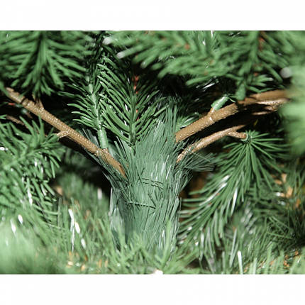 Декор Литая Елка Новогодняя Рождественская Ель Из Литой Искусственной Хвои 160х95см Clasic (ProFit58L), фото 2