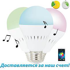 """Bluetooth-динамик Loоoqs """"Умная лампочка"""""""