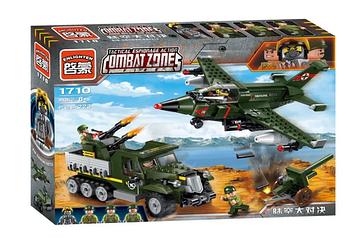 "Конструктор BRICK/Qman 1710 ""Combat Zone - 5"" 438 деталей"