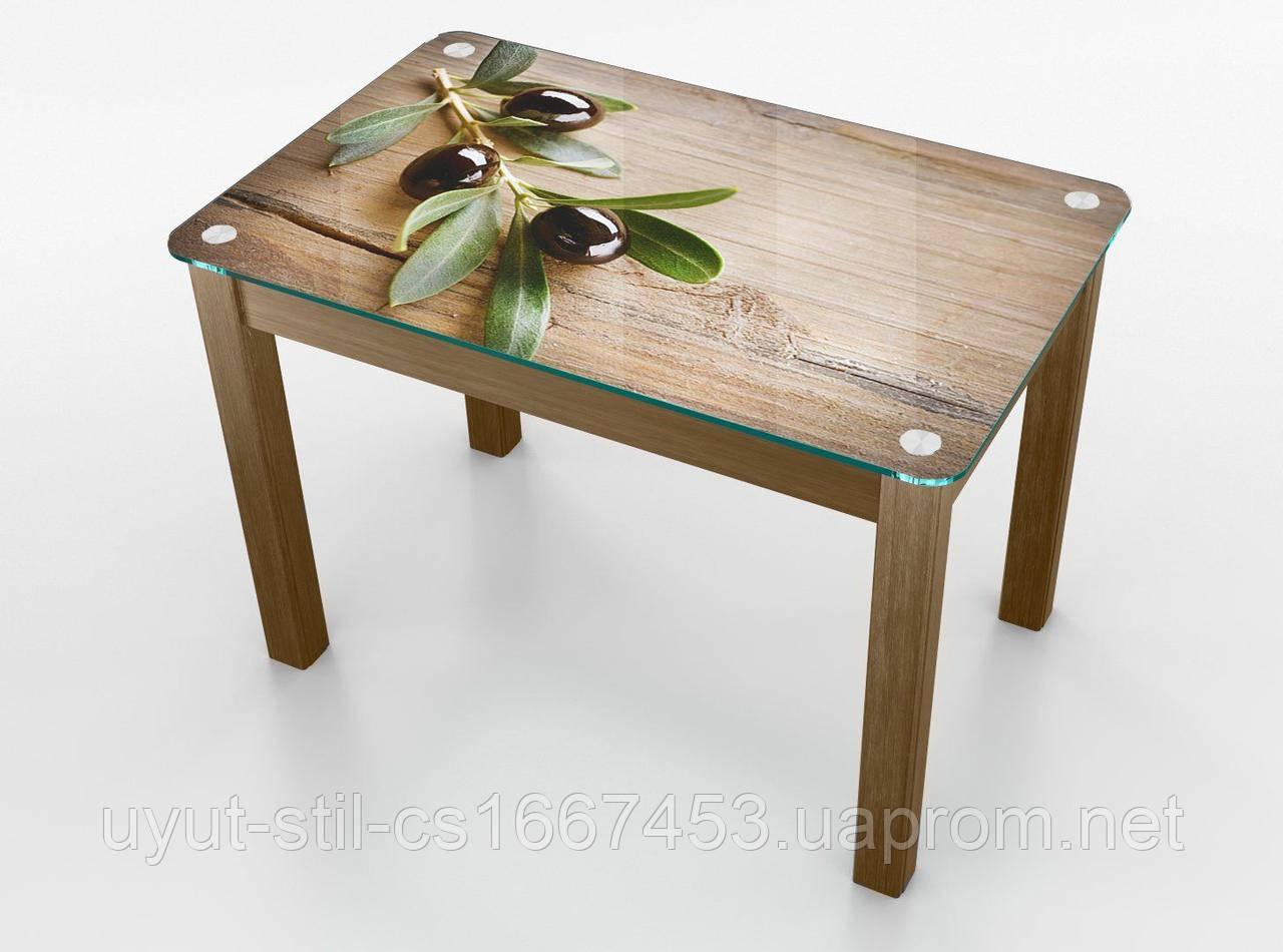 """Кухонный стол Boston """"Оливка"""""""