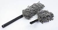 Комплект мягких антистатических щеток для сметания пыли с автомобиля