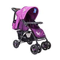 Детская прогулочная коляска книжка  Sigma YK-8F Светло Фиолетовая