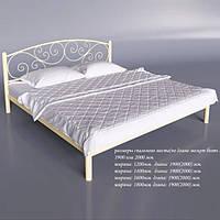 """Кровать двуспальная """"Лилия"""""""