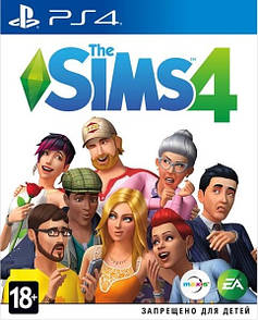 Диск з грою Sims 4  (PlayStation 4)