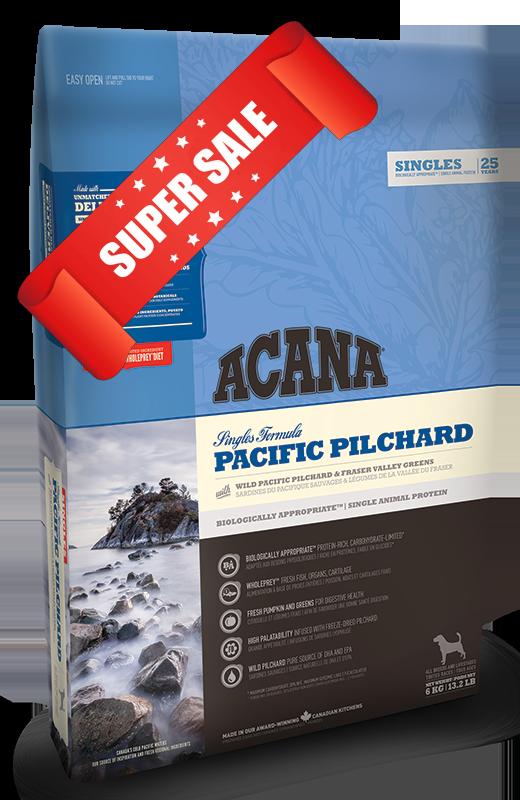 Сухой корм для собак Acana Pacific Pilchard 11,4 кг