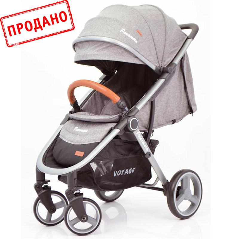 Детская прогулочная коляска книжка  Panamera C689 Grey