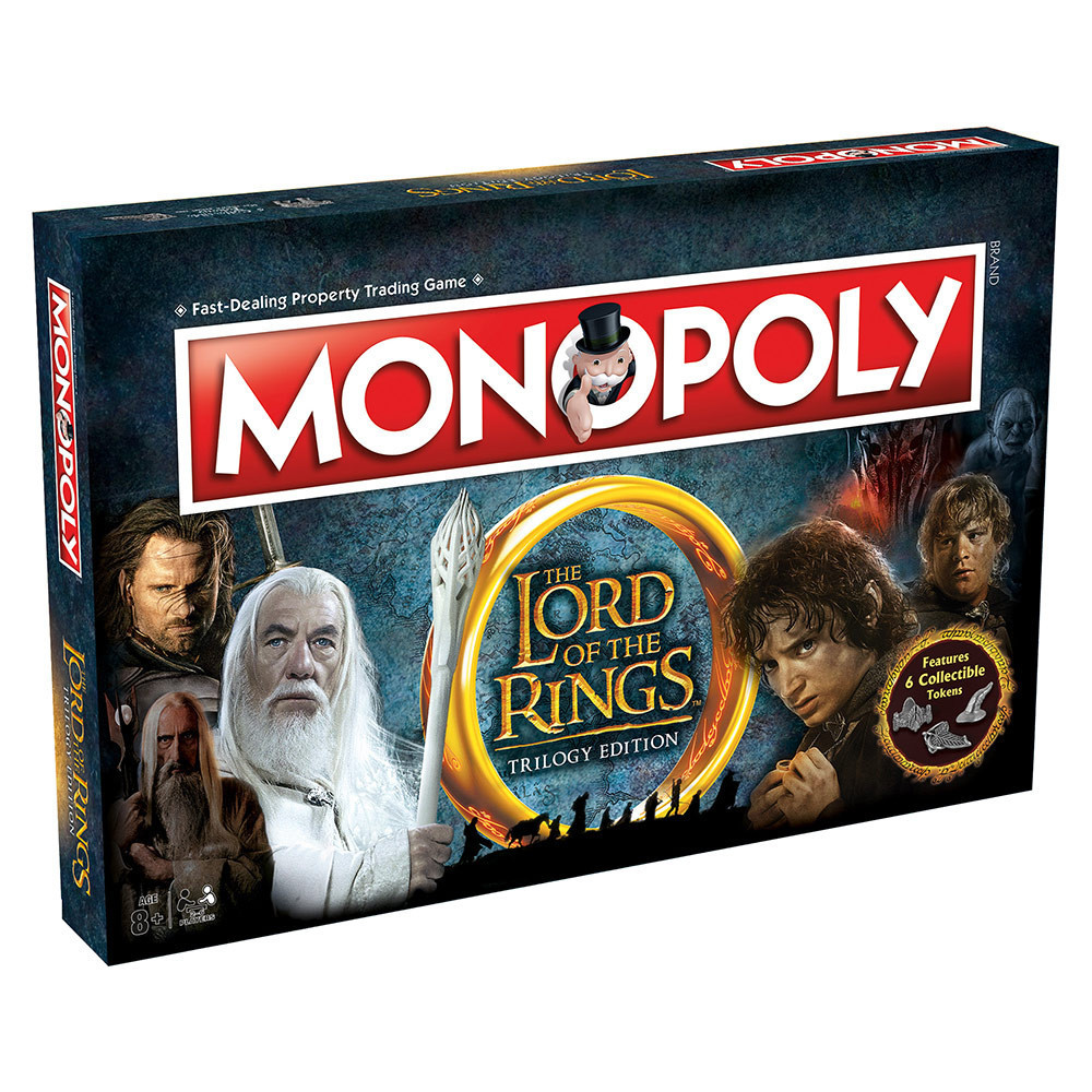 Настольная игра Monopoly The Lord of the Rings (Монополия: Властелин колец)