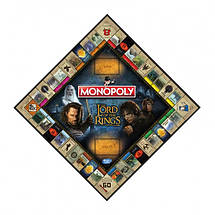 Настольная игра Monopoly The Lord of the Rings (Монополия: Властелин колец), фото 2