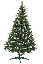 Искусственная ель ПВХ Зелёная Заснеженная - Новогодняя елка от производителя