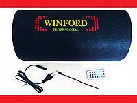 "8"" Активный сабвуфер бочка Winford 300W + Bluetooth, фото 1"
