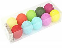 Гирлянды декоративные Cotton Balls 10led, диам 6см, длина 180см на батарейках АА #2