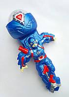 Музичний мікрофон проектор Супергерої Marvel Капітан Америка