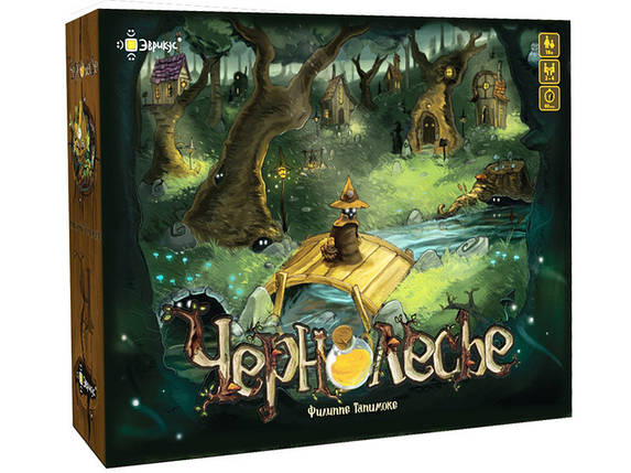 Настольная игра Чернолесье (Blackwood), фото 2