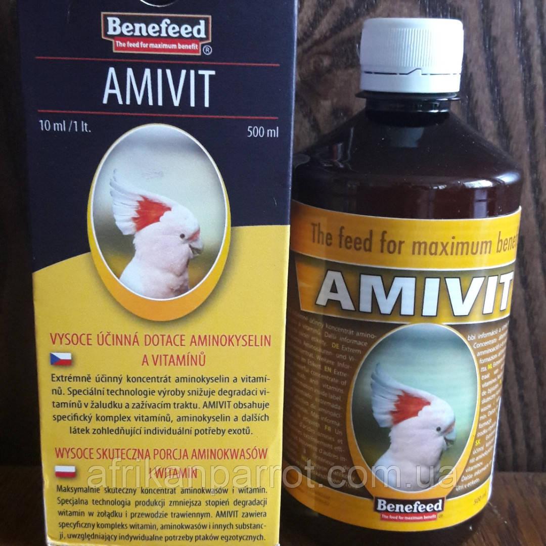 AMIVIT E – высокоэффективные субсидии аминокислот и витаминов