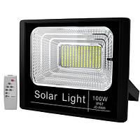 Прожектор светодиодный JD-8800 100W SMD, IP67, солнечная батарея, пульт ДУ