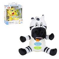 Музыкальная игрушка Животные зебра 5055 scs