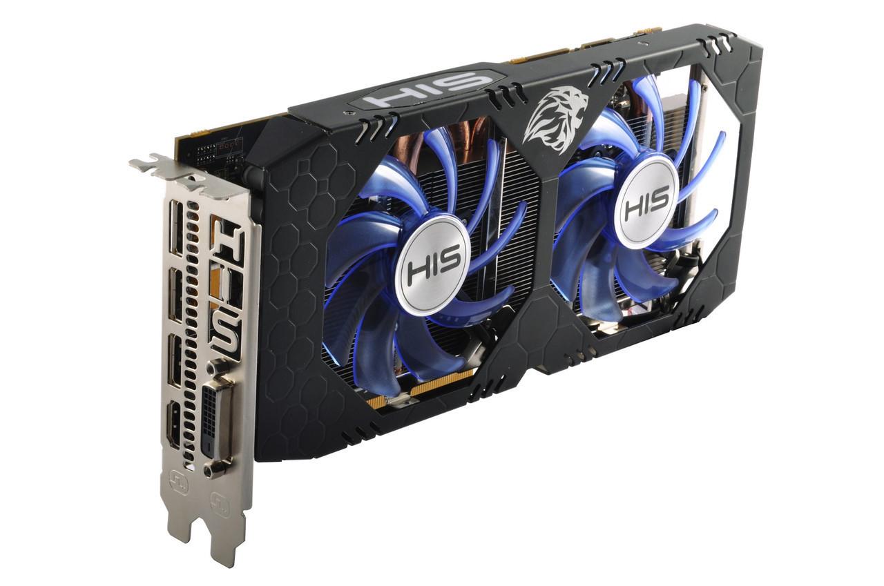 HIS   Radeon RX570  4 Gb 256 bit  DDR5  Гарантия 3 мес.