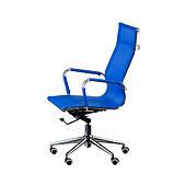 Кресло Solano Mesh (Оскар Лайт) chrome  blue, фото 2