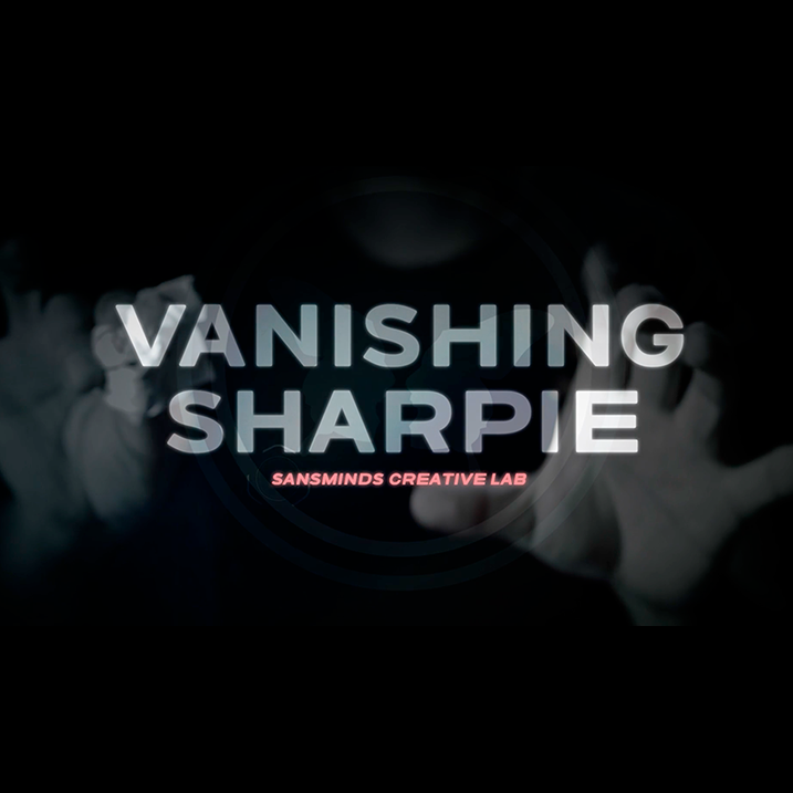 Vanishing Sharpie (DVD and Gimmicks) by SansMinds Creative Lab