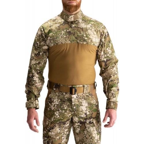 """Рубашка тактическая под бронежилет """"5.11 GEO7™ Terrain STRYKE TDU® RAPID SHIRT"""", [865] Terrain"""
