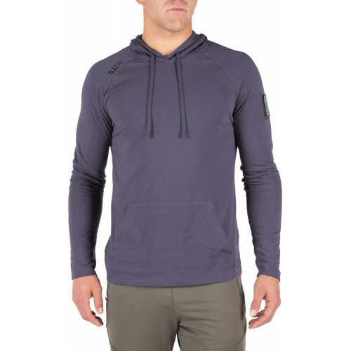 "Реглан ""5.11 CRUISER PERFORMANCE LONG SLEEVE HOODIE"", [637] Mystic"