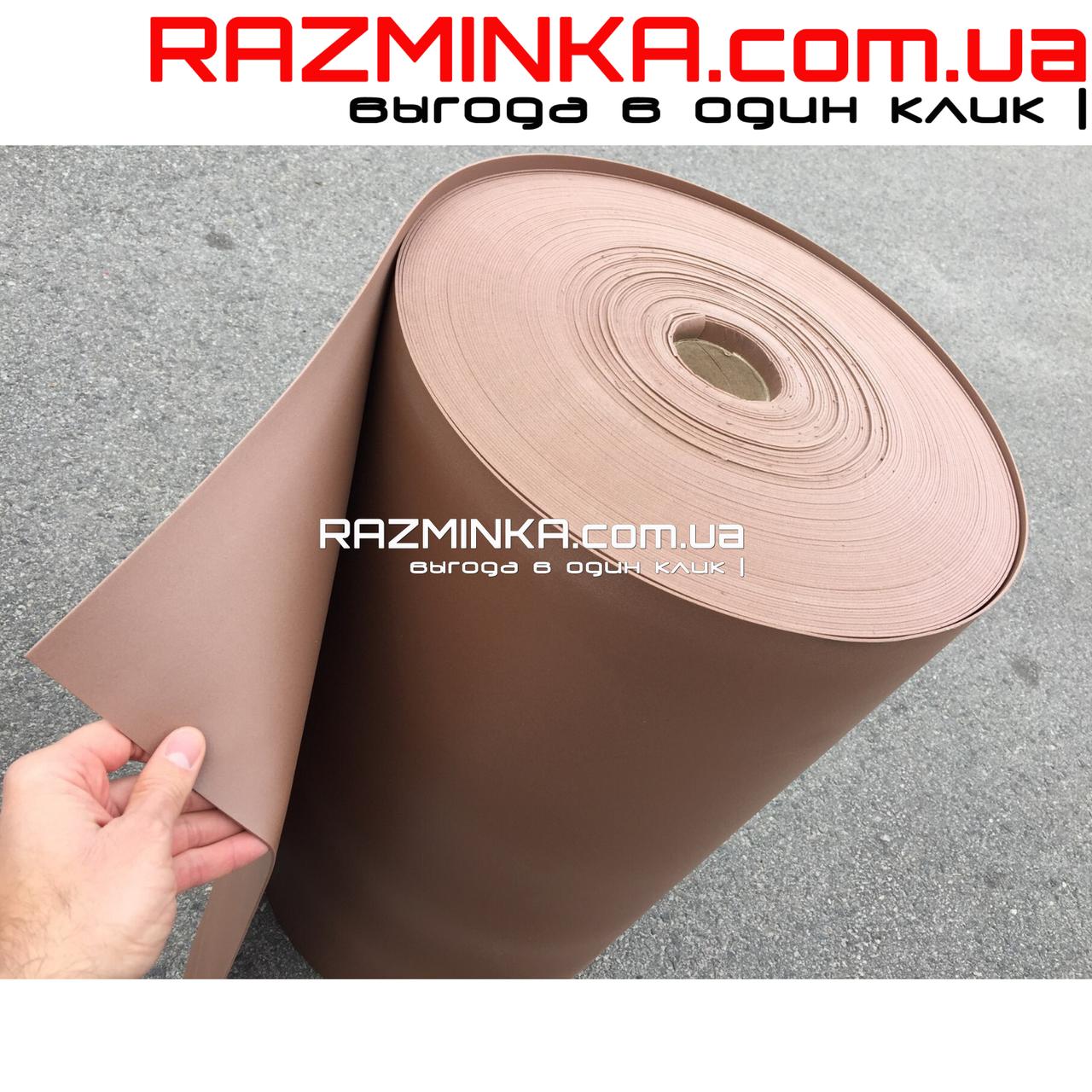 Изолон цветной 3мм, шоколад (15 кв.м)