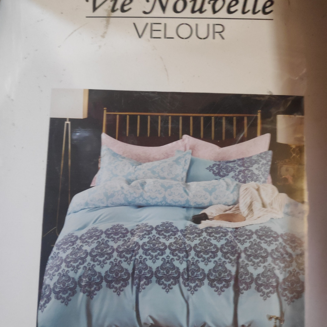Евро комплект постельного белья (фланель)