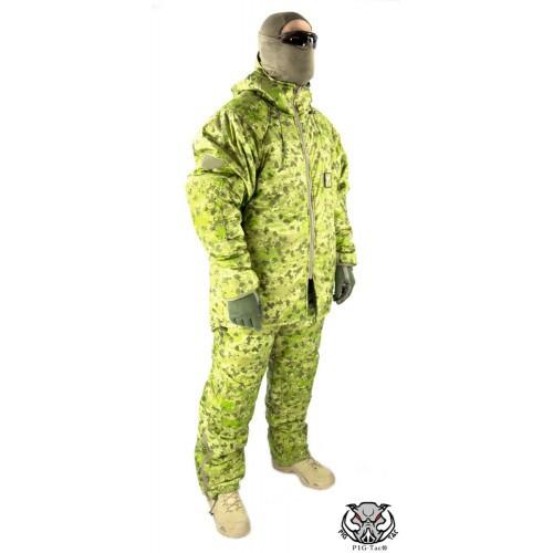 """Костюм для экстремально холодной погоды """"Sleeka Walrus"""" ECWS (Extreme Cold Weather Suit), [1234] Камуфляж """"Жаба Полевая"""""""