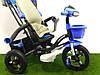 Детский трехколесный велосипед Crosser Т-960 Air Миньоны, фото 4