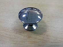 Ручка меблева кнопка ALVA 2/005 хром