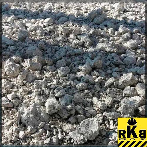 Продажа дробленого бетона бетон из опилок