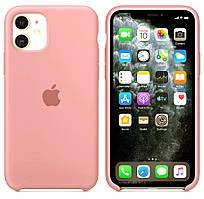 Силиконовый чехол для Apple iPhone 11 Silicone case (Фламинго)
