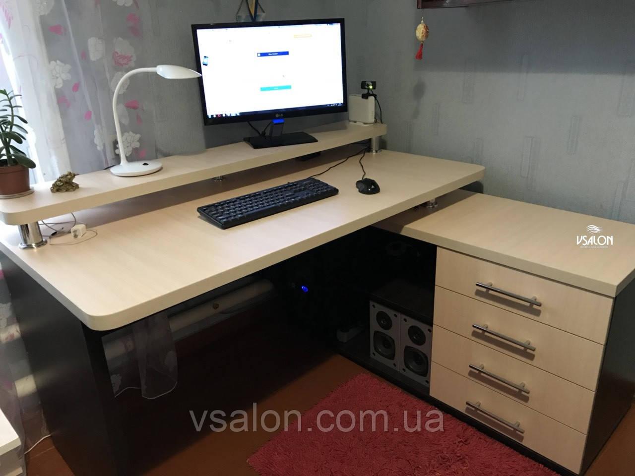 Угловой компьютерный стол V333