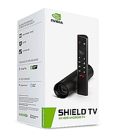 NVIDIA Shield TV 4K HDR Android TV (Shield TV P3430 + Shield Remote P3700) (945-13430-2505-000)