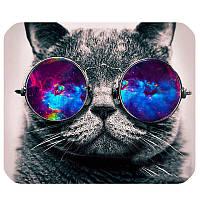 """Коврик для мышки """"Кот в очках"""", фото 1"""