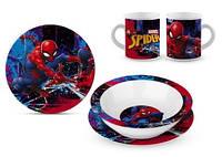 Керамический набор посуды для мальчиков Spider-Man от Disney