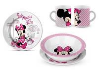 Керамический набор посуды для девочек Minnie от Disney