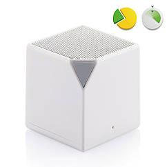 Беспроводная Bluetooth колонка Loоoqs Cube (Куб), белый