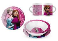 Керамический набор посуды для девочек Frozen от Disney