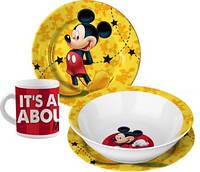 Керамический набор посуды для мальчиков Mickey от Disney