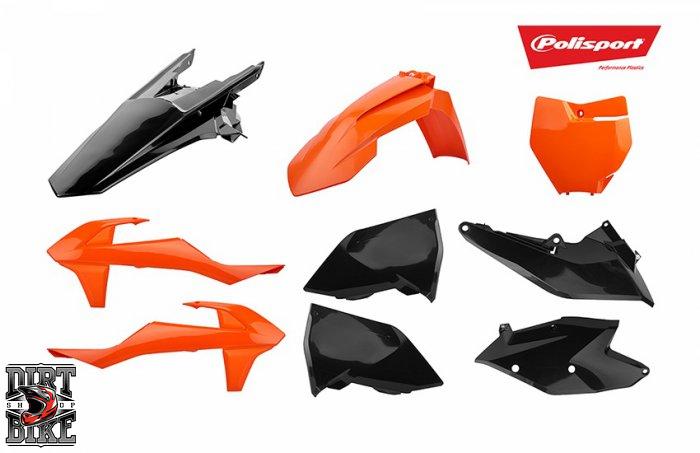 Комплект пластика для KTM EXC/EXC-F (2017-2020)  ENDURO kit